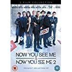 Now You See Me Filmer Now You See Me/Now You See Me 2 Doublepack [DVD] [2013]